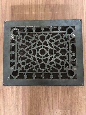 Vintage Rare Heating Grate With Shut Off Heating Vent GOOD CONDITION