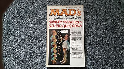 MAD'S Al Jaffee Spews Out - Snappy Answers to Stupid Questions