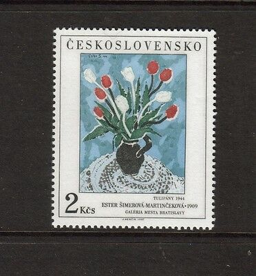 Czechoslovakia - 1987 U/mint Art Issue.