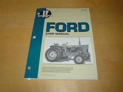 FORD 9600 9700 TW 10 20 30 TW10 TW20 TW30 FORDSON Tractor Engine Workshop Manual
