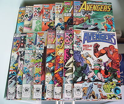 Marvel Comics Avengers Collection/15 Issues/vf+/fn-.
