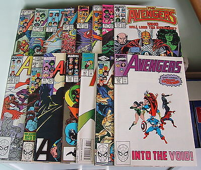 Marvel Comics Avengers Collection/15 Issues/vf+/fn.