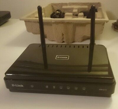 D-link 300 Mbps 1-Port 10/100 Wireless N Router (DIR-615/B)