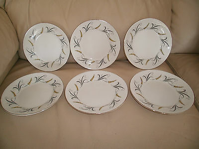6 Royal Standard Melody Tea/side Plates