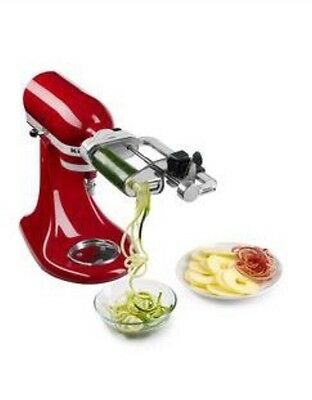 !!NEW!! KitchenAid Spiralizer Attachment With Peel, Core And Slice KSM1APC