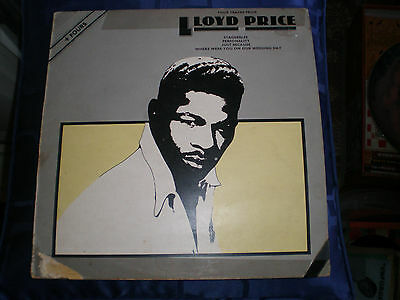 "Lloyd Price - Four Tracks From Lloyd Price - 1977 Abc Label 12"" Single - Exc"