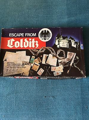 ESCAPE FROM COLDITZ Vintage Board Game by Gibson Games