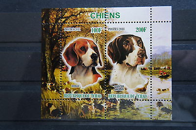 Hunde 57 dogs Chiens Haustiere pets Fauna Block KB sheets postfrisch ** MNH