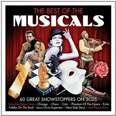 Best Of The Musicals (2015, CD New)
