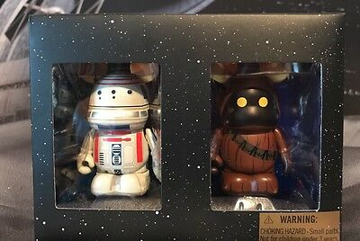 "Disney Star Wars Vinylmation 3"" Set of 2 Figures Jawa And RD-R4 LE 2000"