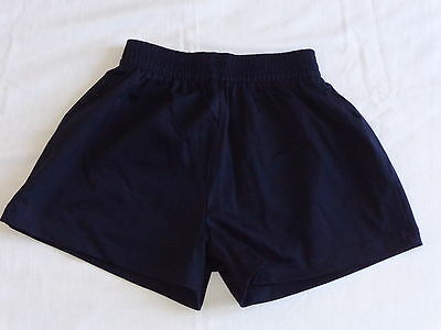 pair of school PE shorts - size 65cm/26inches