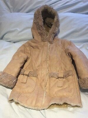 Girls Brand New Hooded Jacket, Age 3/4