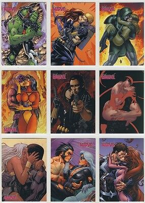 2013 Women Of Marvel series 2 EMBRACE complete chase card Set (18 cards)
