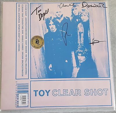 Toy Clear Shot Limited Edition Signed LP