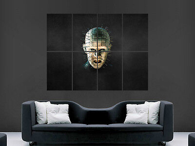 Hellraiser Pinhead Classic Horror Movie Wall Poster Art Picture Print Large