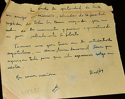 Che Guevara Signed Letter