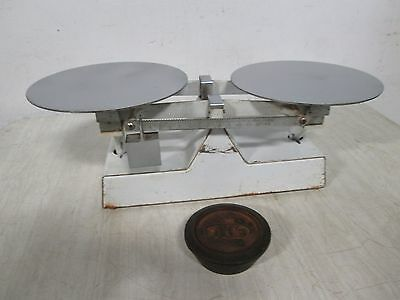 """""""r.o.c."""" H.d. Commercial Old Fashion Counter Weight Bakery Balance Scale"""