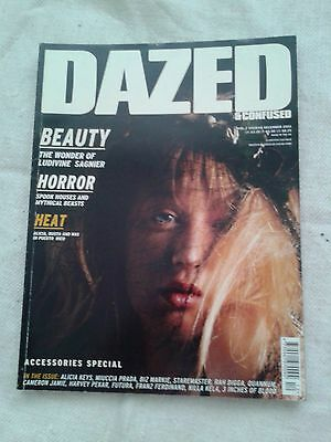 Dazed and Confused Magazine December 2003  Alicia Keys, Accessories Special