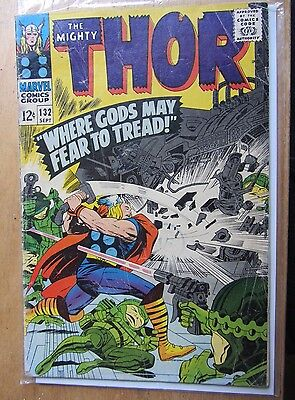 The Mighty Thor #132 September 1966, 1st EGO, GUARDIANS OF THE GALAXY 2