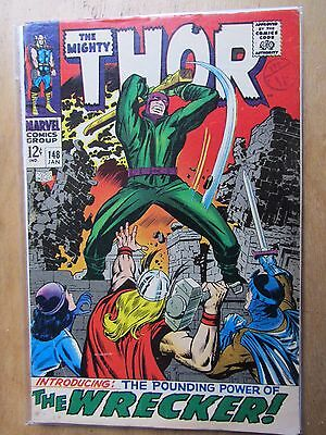 Thor (Journey into Mystery) #148  January1968) 1st Wrecker, Inhumans Story