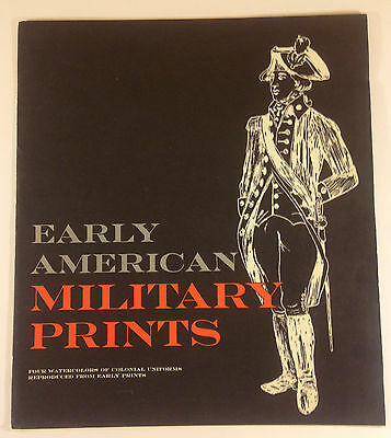 Vintage Early American Military Print. H.A. Ogden