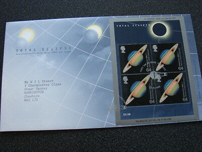 Great Britain 1999 Total Eclipse FIRST DAY COVER