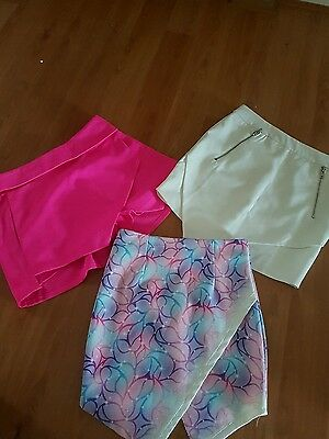 ladies shorts and skirt