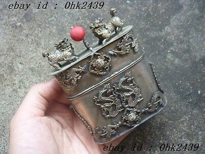 Chinese aristocratic families special longfeng toothpick box