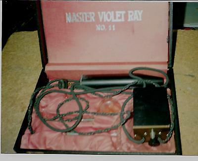 Antique Master Violet Ray Medical Treatment