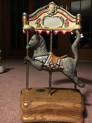 Musical Carousel Cat  By Tobin Fraley ~ Willitts Design Limited Edition