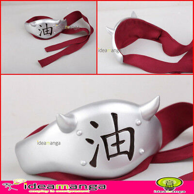 Naruto Jiraiya Waterfall Headband Cosplay Prop Costume Accessory Collection New