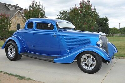1934 Ford Other  1934 Ford 5 Window Steel Body Street Rod Coupe