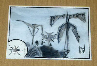 2016 Cryptozoic Hobbit Battle 5 Five Armies sketch card 1/1 Francois Chartier