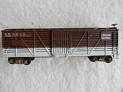 HO Scale CNR Canadian National 40 Foot Stock Car