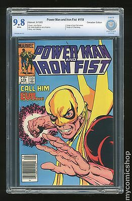 Power Man and Iron Fist (Hero for Hire) Canadian Price Variant #119 CBCS 9.8