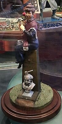 Disney Haunted Mansion 45th Anniver Stretching Portrait Woman on Grave Figure