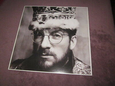 Elvis Costello 1986 King Of America 12x12 Promo Flat Poster Double-Sided