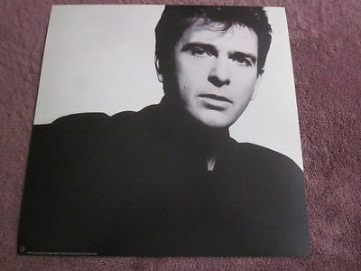 Peter Gabriel 1986 So 12x12 Promo Flat Poster 2-Sided Genesis
