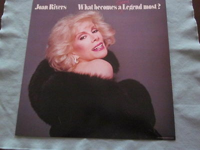 Joan Rivers 1983 What Becomes A Semi-Legend Most? Promo 12x12 Flat Poster