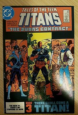 Tales Of The Teen Titans 44  1st Nightwing   Deathstroke 1st Jericho Solid 9.4
