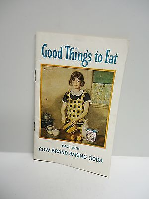 Vintage - COW BRAND BAKING SODA - Baking Instructions and Recipe Booklet