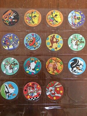 Looney Tunes Tazos (1995) assorted lot