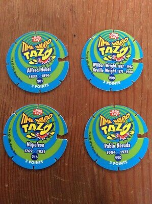 Looney Tunes Time Warp Tazos (1996)