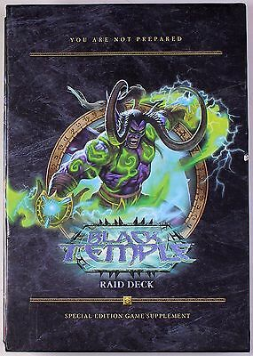 BLACK TEMPLE: Raid Deck WORLD OF WARCRAFT trading card game, Special Edition