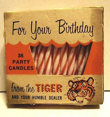 Humble Gas Station Promo Birthday Candles Put A Tiger In Your Tank