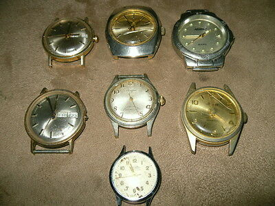 Lot of Vintage Watches for parts, repair.