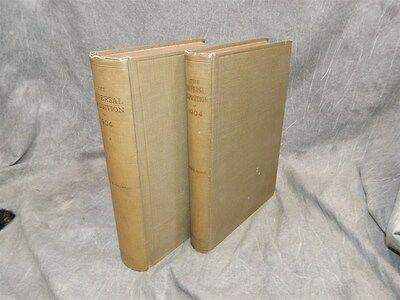 1913 The Universal Exposition of 1904 ~2 Volumes~David R. Francis WORLDS FAIR