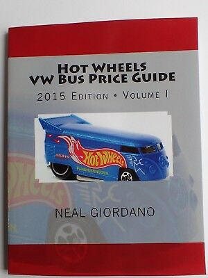 Hotwheels Vw Bus T1 Price Guide Full Colour 1996-2015 Id Photos Fast Free Shipin