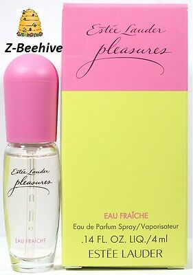 Estee Lauder Pleasures Eau Fraiche Eau De Parfum Spray 014 Oz