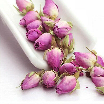 New Rose Tea French Herbal Organic Imperial Dried Rose Buds 100g Dignified
